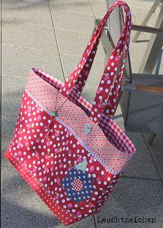 lillesol & pelle Schnittmuster/ pattern: Basic Bag