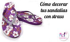 a9ae44e71 Sandalias con Pedrería - ¿Cómo decorarlas paso a paso