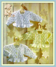 PDF Knitting Pattern for Pretty Design Ruffled от TheKnittingSheep