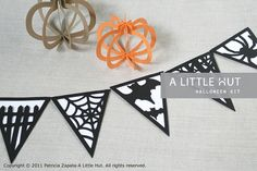 halloween kit - svg & dxf cutting files from A Little Hut