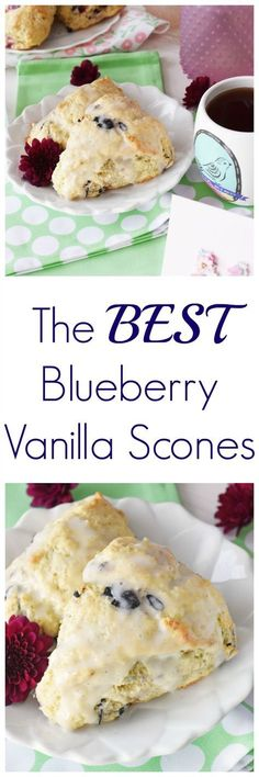 Blueberry Scones Recipe & What Mother's Day Means to Me. Get a delicious blueberry scones recipe and check out some of this year's gorgeous Hallmark cards at Walgreens. via Saving Couple Hallmark Walgreens Blueberry Scones Recipe, Blueberry Recipes, Sweet Scones Recipe, Best Scone Recipe, Vanilla Bean Scones, Blueberry Biscuits, Biscotti, Muffins, Gourmet
