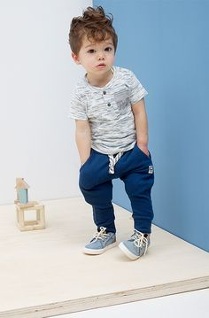 Love this 'lil boy style! Outfits Niños, Style Outfits, Baby Boy Outfits, Kids Outfits, Baby Boys, Toddler Boys, Kids Boys, Toddler Boy Hair, Toddler Boy Style
