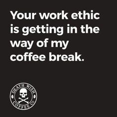 Death Wish Coffee Company is the top online coffee-seller of fair-trade, organic, high-caffeine blends, and we have the world's strongest coffee! Coffee Talk, I Love Coffee, Coffee Break, Morning Coffee, Coffee Coffee, Coffee Shop, Coffee Pics, Coffee Carts, Coffee World