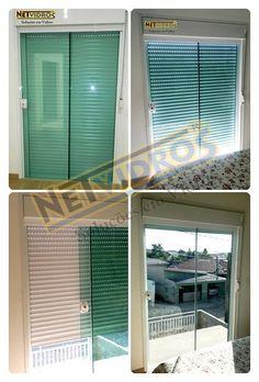 Porta em vidro cristal temperado verde 08mm com integrada manual