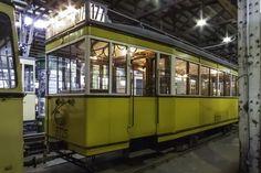 Straßenbahntriebwagen 5727 des Typs T24 der BVG West, von 1924 bis 1963 im Einsatz gewesen.