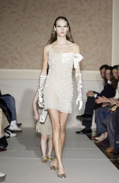 Luisa Beccaria at Milan Fashion Week Fall 2003 - StyleBistro