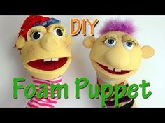 How to make a puppet and pattern from scratch! - YouTube