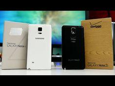 Samsung gelaxy note 4 vs Samsung gelaxy note 3 #galaxynote3 #galaxynote4 #smartphones
