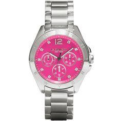 f0165d2b7c2 Relógio feminino Coach com pulseira em aço. 14502071. Larissa Guerini Braga  · relogios