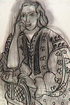 Henri Matisse - La Blouse Roumaine sketches