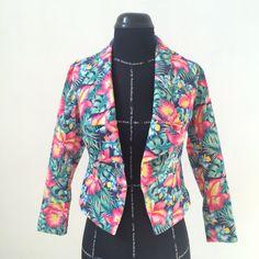 Floral blazer