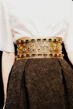Russian traditional style. Russian style in fashion. Dolce & Gabbana Fall 2013, MFW