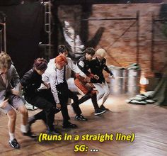 """Yoongi's A+ Namjoon Imitation """