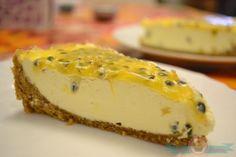 receta de cheesecake de maracuyá