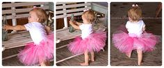 Easy No Sew Tutu Tutorial