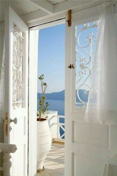 Lacey Doors to the Sea