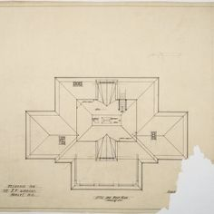 Attic and roof plan