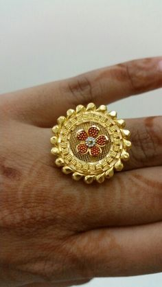 Traditional Indian finger ring... @Malabar gold