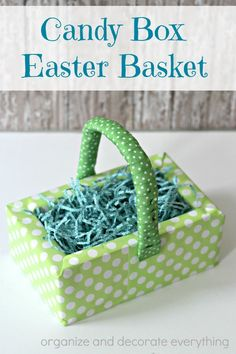Candy Box Easter Basket