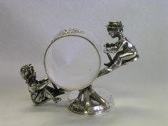 Figural Silver Napkin Ring