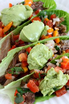 Pork Carnitas & Pico de Gallo (21-Day Sugar Detox and Paleo-Friendly) #paleo #21dsd #carnitas