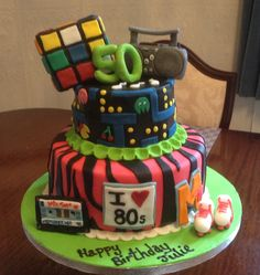 80s cake from Cakes By Nicky