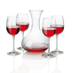 Service à Vin - Tarifs sur devis (contact@objetpubenligne.com) -  TO490169  Set de décanteur à vin. Set incluant 4 verres à vin et un décanteur, en verre cristal soufflé à la machine.. Couleur : blanc.  Dimensions de l'article : 26 x 21 x 41 cm, 1500 gr.  Conditionnement : Dans un carton individuel. Dimensions carton : 41 x 21 x 26 cm, 1,5 kg. Colisage : 1/1.  Marquage : gravure laser, 1 couleurs maxi. Dimensions de marquage : 50 x 10