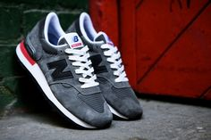 New Balance 990   Charcoal Grey