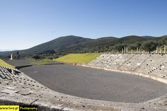 Stadium of Ancient Messini in South Peloponisos. Greek Art, Ancient Greece, Art And Architecture, Channel, Pictures, Lights, Photos, Photo Illustration, Drawings
