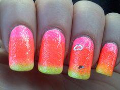 neon gradient by Adrienne Victoria, via Flickr