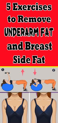 5 Exercises to Remove Underarm Fat and B. - 5 Exercises to Remove Underarm Fat and Breast Side Fat Best Picture For fitmess equipment For You - Health And Fitness Tips, Health And Wellness, Health Tips, Fitness Nutrition, Women's Health, Health Benefits, Easy Workouts, At Home Workouts, Workout Routines