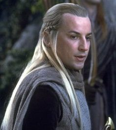 "Middle-earth:  Haldir (Craig Parker), ""The Lord of the Rings."""