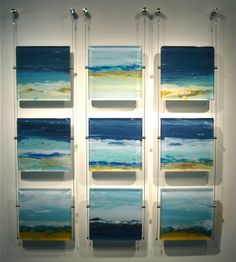 """Vetro by John Schuyler mixed media on plexiglass) at Gardner Colby Gallery Small Paintings, Landscape Paintings, Landscapes, Mini Canvas Art, Canvas Wall Art, Free To Use Images, Encaustic Painting, Art Series, Small Art"