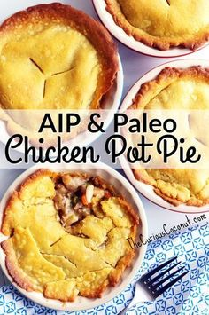AIP & Paleo Chicken Pot Pie made with Otto's Naturals Cassava Flour | The Curious Coconut