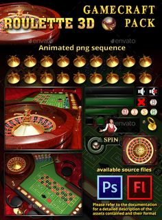 Buy Roulette Game Assets by codethislab on GraphicRiver. ROULETTE GAME ASSETS This Graphic Pack is used in Roulette You can try the game here This Graphic Pack is conce. 300 Game, Roulette Game, Logo Psd, Casino Table, Game Background, Game Icon, Information Graphics, Game Assets, Animation