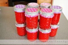 strawberry freezer jam!