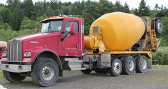 Jobs I loved ! Types Of Concrete, Mixer Truck, Concrete Mixers, Kenworth Trucks, Dump Trucks, Cement, Cool Things To Buy, Around The Worlds, Vehicles