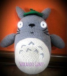 #totoro #amigurumis #amigurumi #artesanal #crochet #peluche #amigurumilove by surcando_gumis
