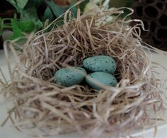 "Creative ""Try""als: Make Your Own Robin Eggs With Baking Soda Clay"