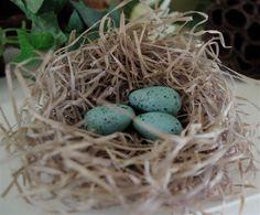 "Creative ""Try""als: Make Your Own Robin Eggs With Baking Soda Clay Самозастывающая масса для моделирования."