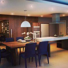 Espaço Gourmet por Camila Klein Arquitetura e Interiores.