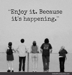 It's Happening - from The Perks of Being a Wallflower starring Emma Watson * www.OnlineMovieQuotes.com *