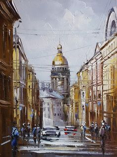 St. Petersburg_art by Yuri Khovanskiy