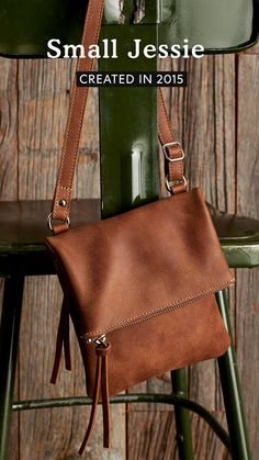 A reissue of an iconic Roots style, our Small Jessie is perfect for your everyday adventures. Designed and handcrafted in Canada, this bag features a top zipper closure, a front zipper pocket and an adjustable shoulder strap. Jessie, Roots, Messenger Bag, Shoulder Strap, Satchel, Canada, Closure, Zipper, Pocket