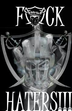 FCK RAIDER HATERS!!! Oakland Raiders Wallpapers, Oakland Raiders Images, Oakland Raiders Logo, Raiders Pics, Raiders Stuff, Raiders Baby, Raiders Football Team, Football Boys, American Football League