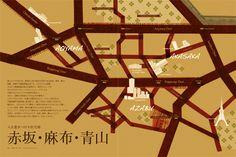 赤坂・麻布・青山地図