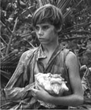 THE LORD OF THE FLIES ROGER ELWIN , JAMES AUBREY [Ralph], and TOM ...