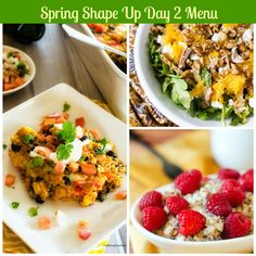 #SpringShapeUp Meal Plan, Day 2