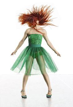 """Australian Dance Theatre- Garry Stewart's """"G"""" Photography © by Chris Herzfeld /// Dancer: Gabrielle Nankivell"""