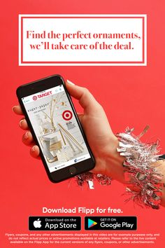 All of your favorite holiday ads in one place: the Flipp app. Browsing has never been easier. Clip coupons, create a shopping list and saving money during the holiday season. Download for free.